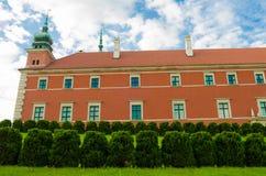 Castello reale a Varsavia, Polonia Fotografia Stock