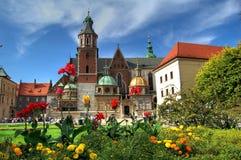Castello reale Wawel Fotografia Stock