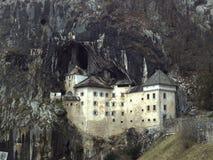 Castello in roccia Fotografia Stock Libera da Diritti