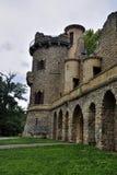 Castello romantico del hrad di Januv di rovina Fotografia Stock Libera da Diritti