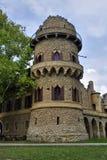 Castello romantico del hrad di Januv di rovina Fotografie Stock Libere da Diritti