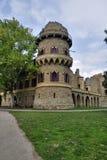 Castello romantico del hrad di Januv di rovina Immagini Stock