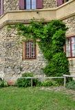 Castello romantico del hrad di Januv di rovina Fotografie Stock