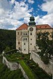 Castello romantico, palazzo di rinascita Fotografie Stock