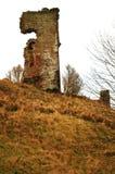 Castello rosso, baia di Lunan fotografia stock libera da diritti