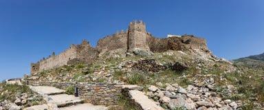 Castello Rosso, Karystos, Grecia Imagen de archivo libre de regalías