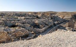 Castello rovinato Shobak Fotografia Stock Libera da Diritti