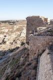 Castello rovinato Shobak Fotografia Stock