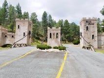 Castello in Ruidoso New Mexico Immagini Stock Libere da Diritti