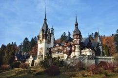 Castello rumeno Peles fotografie stock libere da diritti