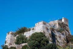 Castello Salerno della fortezza di rovina Immagini Stock Libere da Diritti
