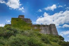 Castello Salerno della fortezza di rovina Immagine Stock Libera da Diritti