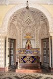 Castello Sammezzano, altare privato della cappella Fotografie Stock