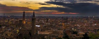 Castello San Pietro, Verona Immagini Stock Libere da Diritti