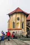 Castello sanguinato Fotografia Stock Libera da Diritti