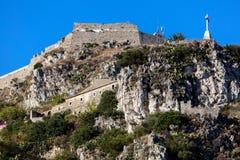 Castello saraceno in Taormina, Sicilia, Italia Immagine Stock Libera da Diritti
