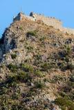 Castello saraceno in Taormina, Sicilia, Italia Immagine Stock