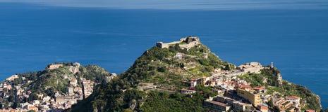Castello Saraceno of Taormina Stock Photography