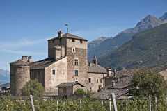 Castello Sarriod Stock Photo