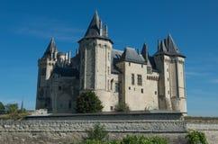 Castello in Saumur Fotografie Stock