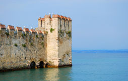 Castello Scaligero Royalty Free Stock Photos