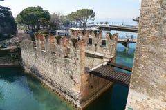Castello scaligero zdjęcia royalty free