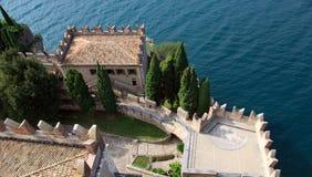 Castello Scaligero di Malcesine. In the Gardasee Stock Photography
