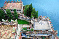 Castello Scaligero em Malcesine, Itália Fotos de Stock Royalty Free