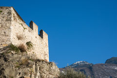 Castello Scaligero at Malcesine, Italy Stock Images