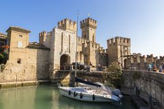 Sirmione, Italy royalty free stock photo