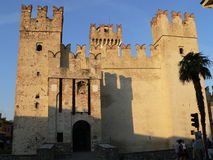 Castello Scaligero, Sirmione ( Italia ) Royalty Free Stock Photography