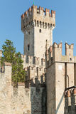 Castello Scaligero in Sirmione on Lake Garda Stock Photography