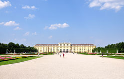Castello - Schonbrunn Fotografia Stock Libera da Diritti