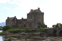 Castello - Scozia Immagini Stock Libere da Diritti