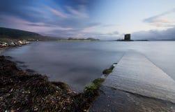 Castello Scozia dell'inseguitore Fotografie Stock