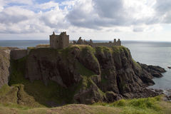 Castello Scozia di Dunnottar Immagine Stock Libera da Diritti