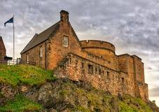 Castello Scozia di Edinburgh Immagine Stock Libera da Diritti
