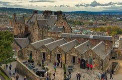 Castello Scozia di Edinburgh Immagini Stock Libere da Diritti
