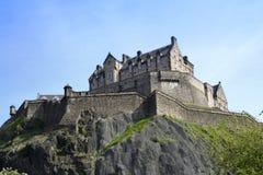 Castello Scozia di Edinburgh Fotografie Stock Libere da Diritti