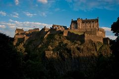 Castello Scozia di Edinburgh Immagine Stock