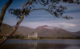 Castello Scozia di Kilchurn Fotografia Stock Libera da Diritti