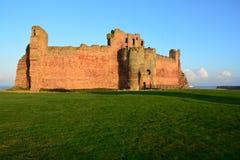 Castello Scozia di Tantallon Fotografia Stock Libera da Diritti