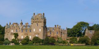 Castello scozzese Fotografia Stock Libera da Diritti