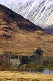 Castello scozzese Fotografie Stock Libere da Diritti