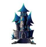 Castello scuro Illustrazione Vettoriale