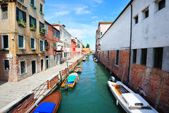 Castello sestiere in Venice Royalty Free Stock Images