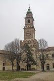 Castello Sforcesco в Vigevano стоковые изображения