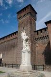Castello Sforzesco Stockfotografie