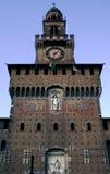 Castello sforzesco. A shot of Sforza's castle in milan stock photo