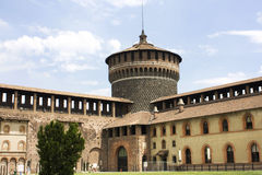 castello sforzesco Obraz Royalty Free